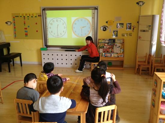 认识钟表——红黄蓝幼儿园