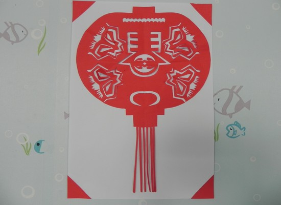 灯笼儿童画作品欣赏