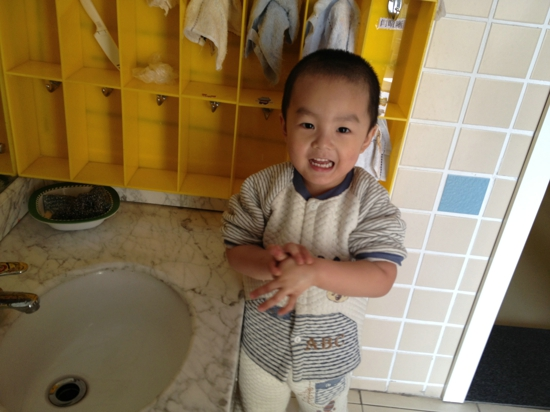 洗洗小手——红黄蓝幼儿园