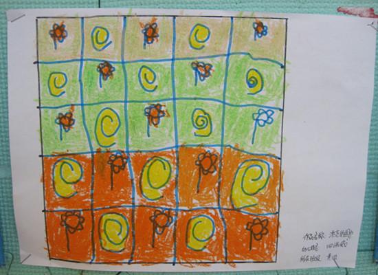 绘画——漂亮的围巾图片