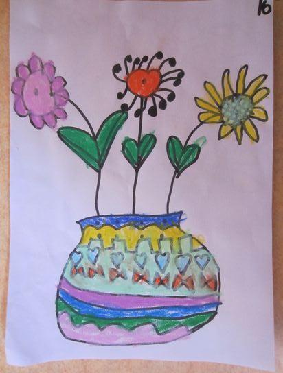 美丽的花朵 _ 红黄蓝|早教|早教中心