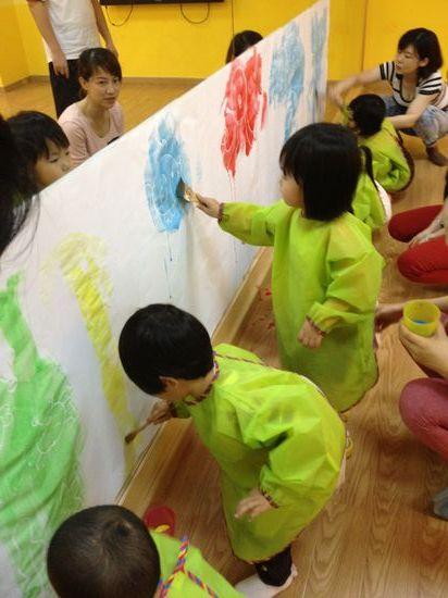 创意美术---涂鸦墙图片