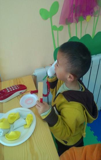 幼儿园娃娃家电话手工制作图片
