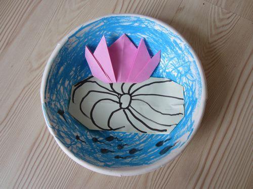 纸碗手工制作图片