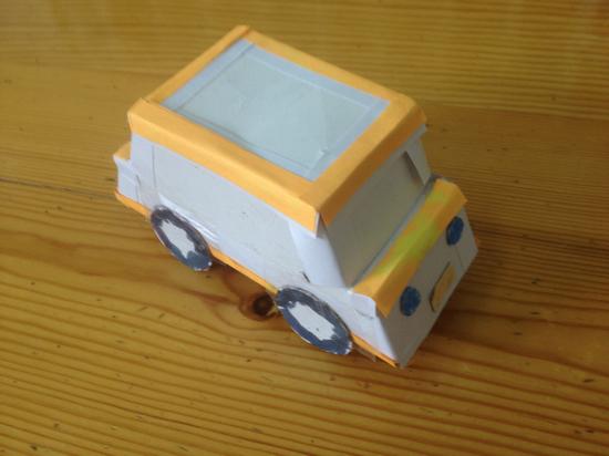 儿童手工制作小汽车