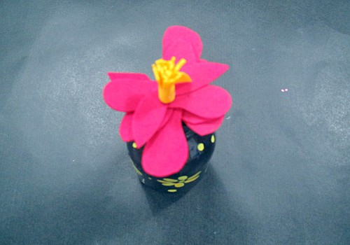 昱博的作品,大红花