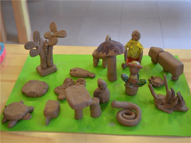 泥塑作品 _ 红黄蓝|早教|早教中心