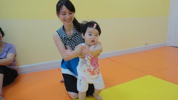 0-1岁宝宝游园亲子活动照片