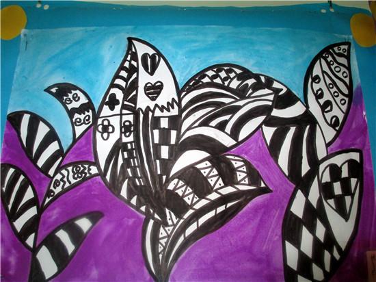 儿童海藻简笔画