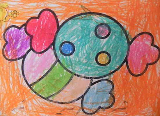 幼儿园糖果画画图片