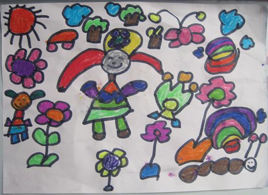 绘画——快乐教师节
