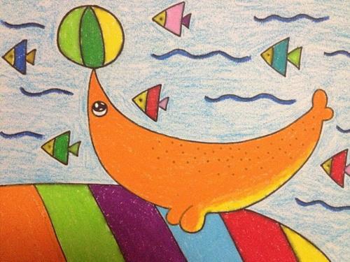 海豚顶球 _ 红黄蓝|早教|早教中心