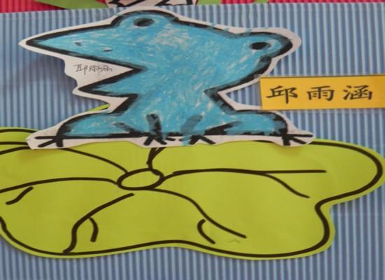 张嘴青蛙折纸步骤图
