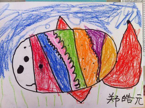 可爱的线条画动物 _ 红黄蓝|早教|早教中心