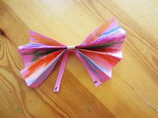 幼儿园蝴蝶结手工制作步骤