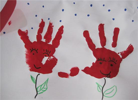 幼儿园手掌创意画_幼儿园美术手掌画