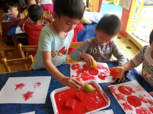 幼儿园小班拓印画教案