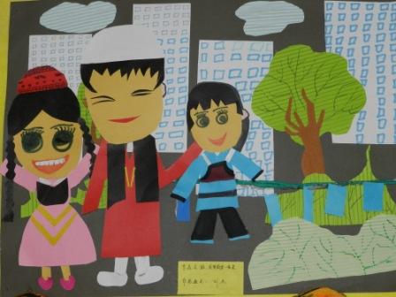 民族团结一家亲 桑皮纸上的中国画 首展开幕