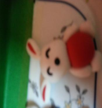 可爱的小白兔 _ 红黄蓝|早教|早教中心