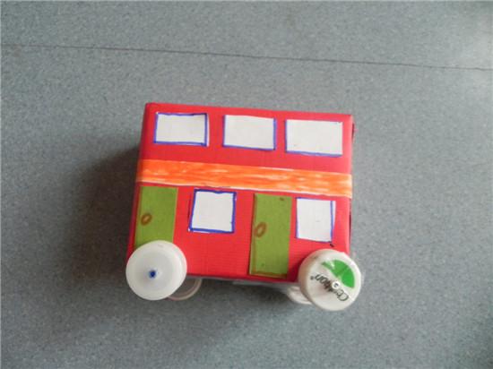 幼儿园手工制作大全小汽车