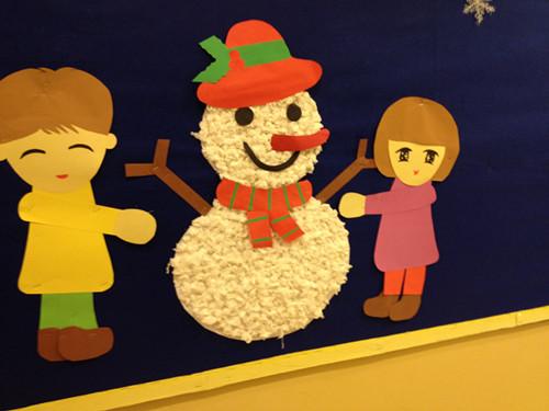 幼儿园手工制作雪人大全