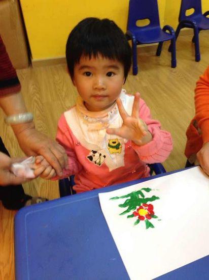 庆中秋儿童画图片;