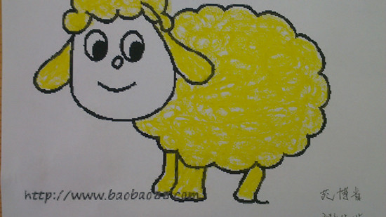 漂亮的小绵羊 _ 红黄蓝|早教|早教中心