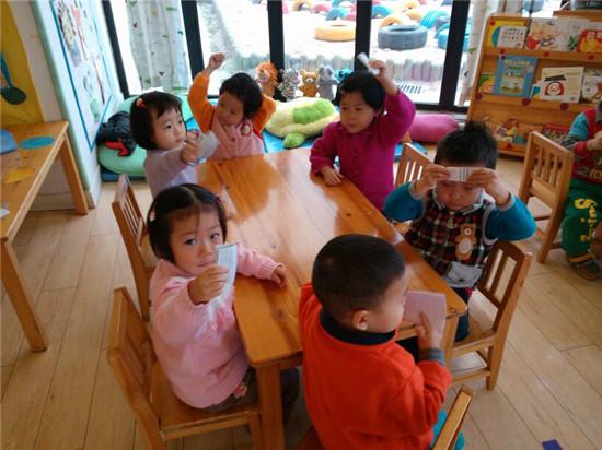 幼儿园小班亲子手工制作折纸