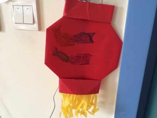 美丽的折纸灯笼
