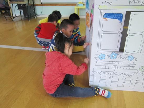 涂色房子2 _ 红黄蓝|早教|早教中心