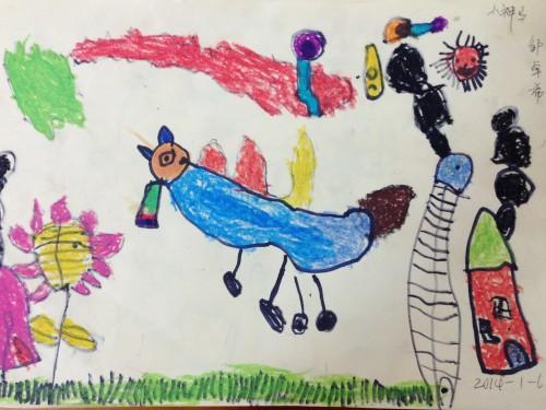 送给马年的可爱的马