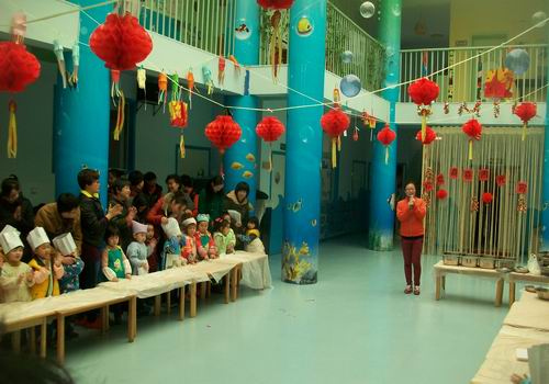 岛红黄蓝春之都幼儿园 欢度元宵佳节
