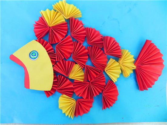 蓝一班任宣晨--手工制作鱼