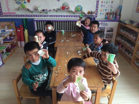 儿童手工动物牙齿