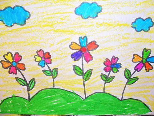 可爱小花卡通图片