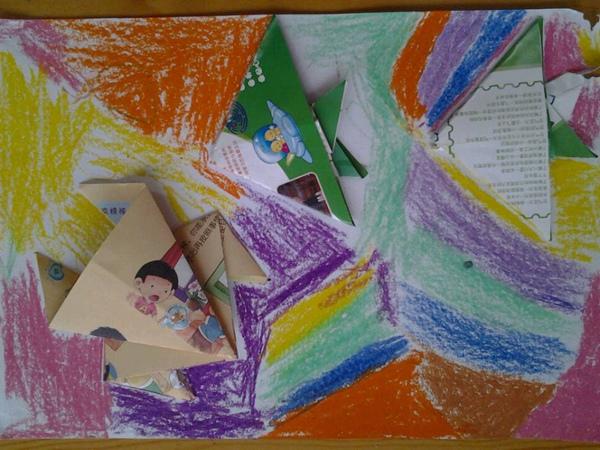 折纸青蛙和小鱼图片