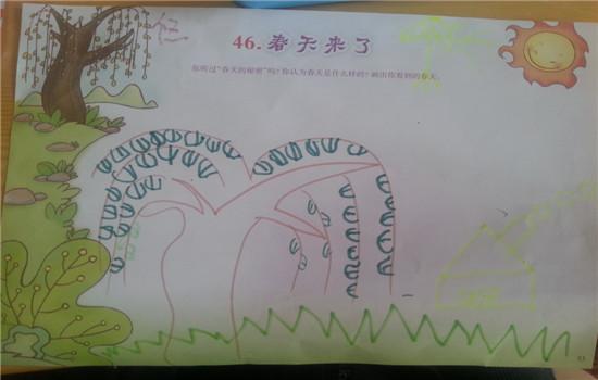 悠悠这幅画,柳树很有特点,房子和鸟颜色太浅··下次用深颜色画图片