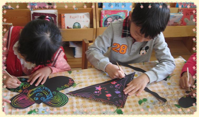 海底世界儿童画_儿童画鱼的图画