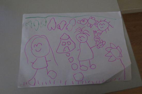 我和老师在阳光下跳舞.图片