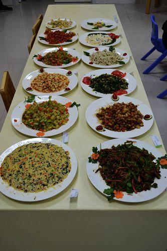 2014年度红黄蓝幼儿园第二届饮食厨艺大比拼图片