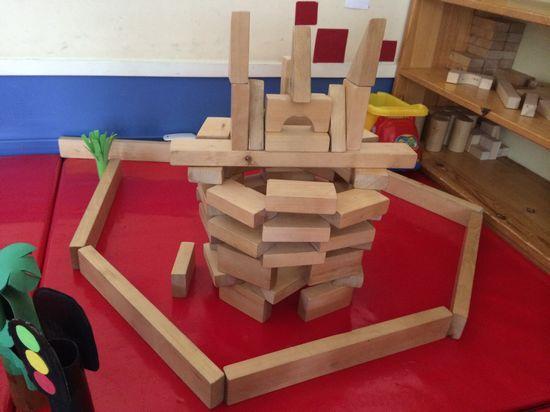 在材料的提供不仅要有积木等基础性材料:建立经验