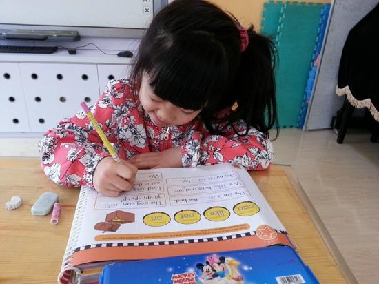 我能写英语了 _ 红黄蓝|早教|早教中心_中国儿童