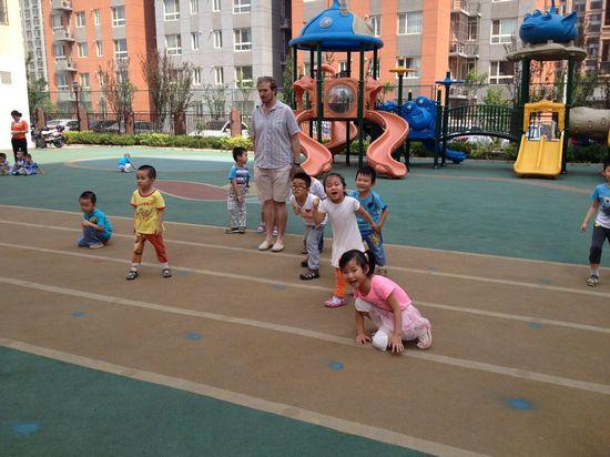 幼儿民间体育游戏木头人
