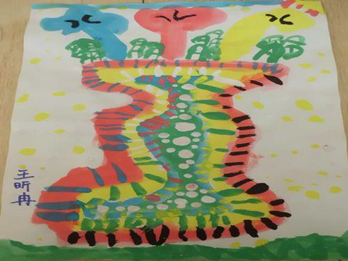 美工区——水粉画