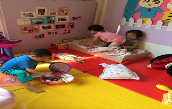 幼儿区角设计图