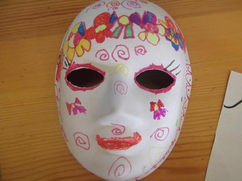 儿童脸谱彩绘