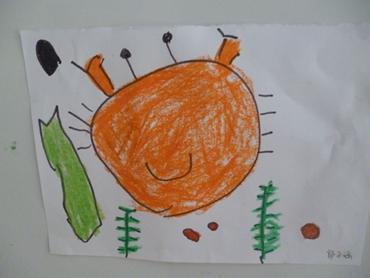 幼儿园画画螃蟹图片大全