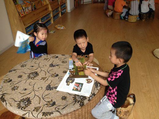 家里儿童阅读区域设计图