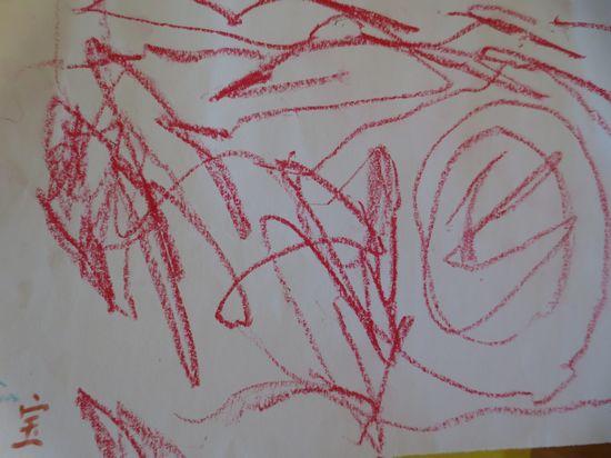 美工区的涂鸦 _ 红黄蓝|早教|早教中心