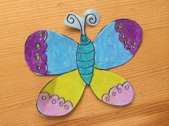 各种各样的蝴蝶 _ 红黄蓝|早教|早教中心